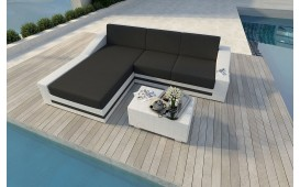 Designer Rattan Lounge Sofa MIRAGE MINI NATIVO™ Möbel Schweiz