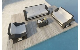 Rattan Lounge Set MIRAGE 3+2+1 NATIVO™ Möbel Schweiz