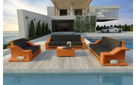 Set Lounge MIRAGE 3+2+1 in rattan NATIVO™ Möbel Schweiz