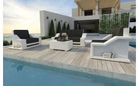 Rattan Lounge Set MIRAGE 2+1+1 NATIVO™ Möbel Schweiz