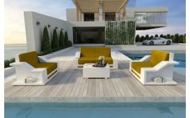 Set Lounge MIRAGE 2+1+1 in rattan NATIVO™ Möbel Schweiz