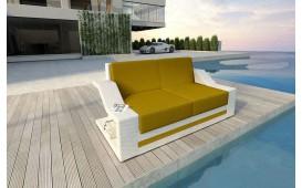Rattan Lounge Sofa MIRAGE 2 Sitzer NATIVO™ Möbel Schweiz