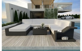 Designer Rattan Lounge Sofa MIRAGE XXL v1