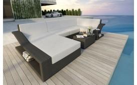Designer Rattan Lounge Sofa MIRAGE XL v1