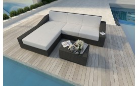 Designer Rattan Lounge Sofa MIRAGE MINI v1 NATIVO™ Möbel Schweiz