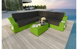 Designer Rattan Lounge Sofa MIRAGE CORNER v1 NATIVO™ Möbel Schweiz