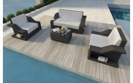 Rattan Lounge Set MIRAGE 2+1+1 v1