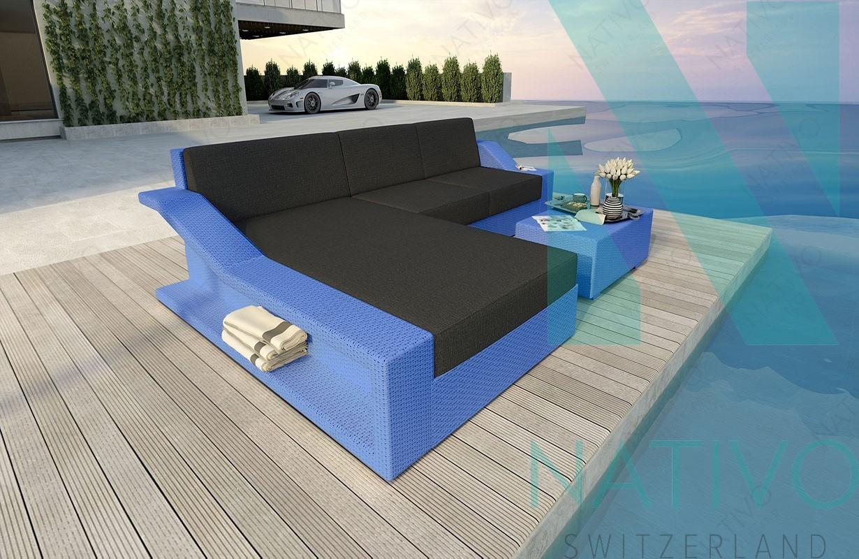 Rattan Sofa Lounge Modular MIRAGE MINI von NATIVO Möbel