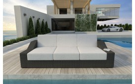 Rattan Lounge Sofa MIRAGE 3 Sitzer v1