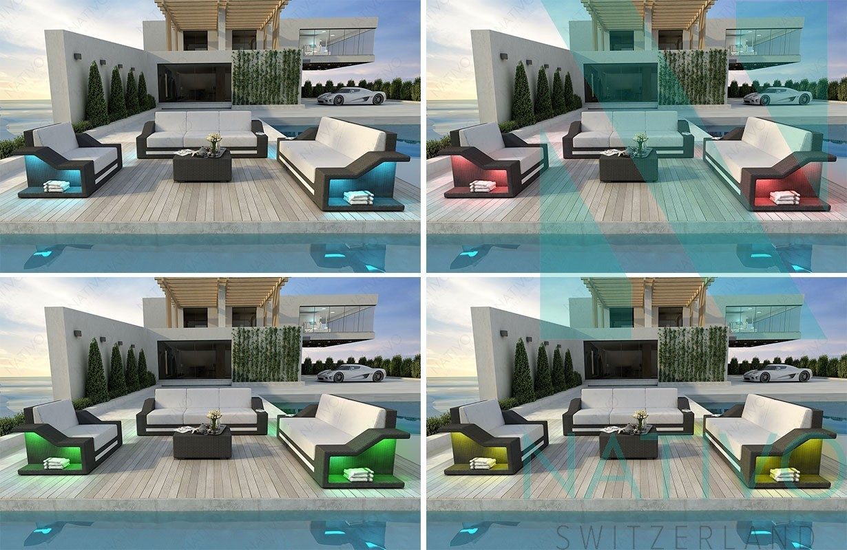 rattan lounge sofa mirage v1 in rattan von nativo m bel. Black Bedroom Furniture Sets. Home Design Ideas