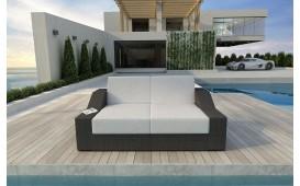 Rattan Lounge Sofa MIRAGE 2 Sitzer v1 NATIVO™ Möbel Schweiz