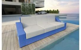 Rattan Lounge Sofa MIRAGE 3 Sitzer v1 NATIVO™ Möbel Schweiz