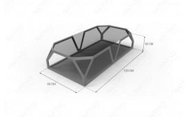 Designer Couchtisch FLASH von NATIVO™ Designer Möbel Schweiz