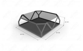 Designer Couchtisch FLASH MINI von NATIVO™ Designer Möbel Schweiz