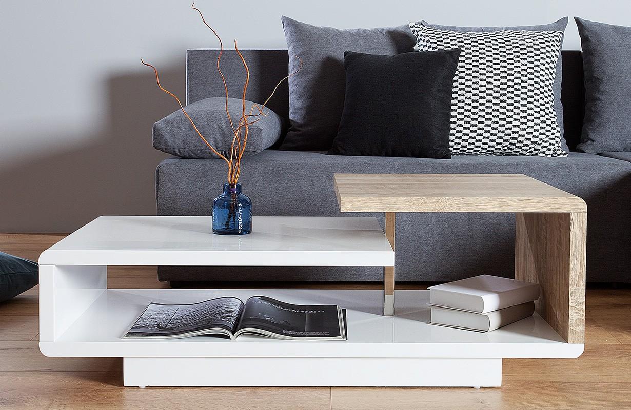 table basse pour le salon bond wood 100 cm nativo meubles. Black Bedroom Furniture Sets. Home Design Ideas