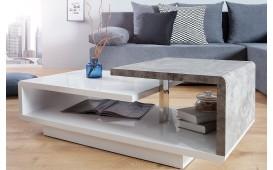 Designer Couchtisch BOND CONCRETE 100 cm- NATIVO™ Möbel Schweiz
