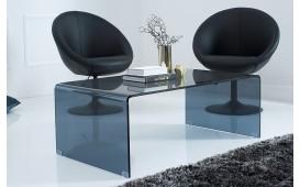 Table basse Design CLEAR 110 cm ANTHRAZIT