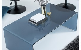 Designer Couchtisch CLEAR 110 cm ANTHRAZIT- NATIVO™ Möbel Schweiz