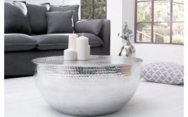 Table basse Design KUPA HALF SILVER 70 cm