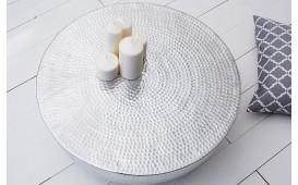 Tavolino di design KUPA HALF SILVER 70 cm