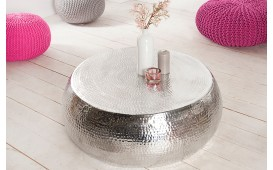 Designer Couchtisch KUPA BIG SILVER- NATIVO™ Möbel Schweiz