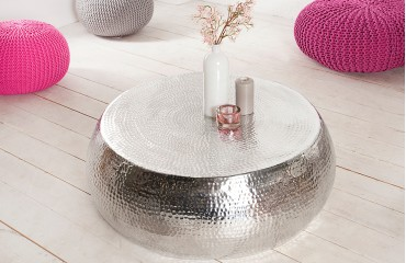 Table basse Design KUPA BIG SILVER