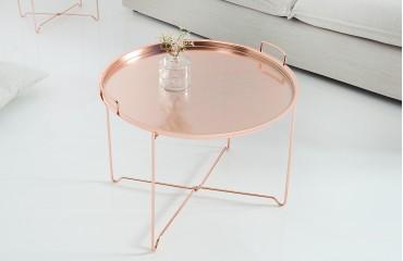 Designer Couchtisch CASABLANCA COPPER- NATIVO™ Möbel Schweiz