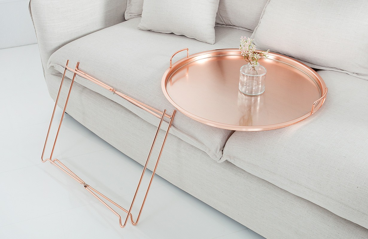 Table Basse Pour Le Salon Casablanca Copper Nativo Meubles