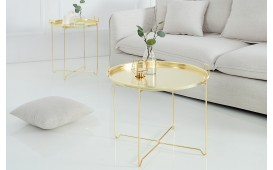 Tavolino di design  CASABLANCA GOLD