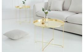 Designer Couchtisch CASABLANCA GOLD