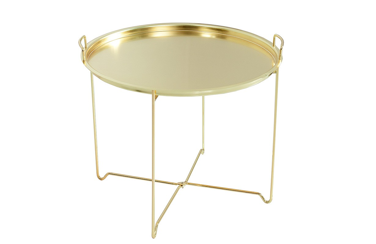 Table Basse Pour Le Salon Casablanca Gold Nativo Meubles