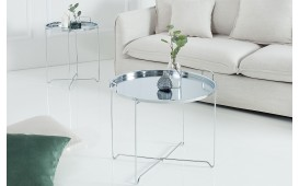Table basse Design CASABLANCA SILVER