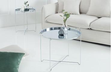 Tavolino di design  CASABLANCA SILVER