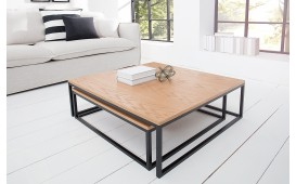Tavolino di design UNITY OAK BLACK SET 2