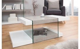 Designer Couchtisch DUO CONCERTE 110 cm- NATIVO™ Möbel Schweiz