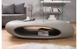 Table basse Design BUBBLE CONCRETE avec éclairage LED