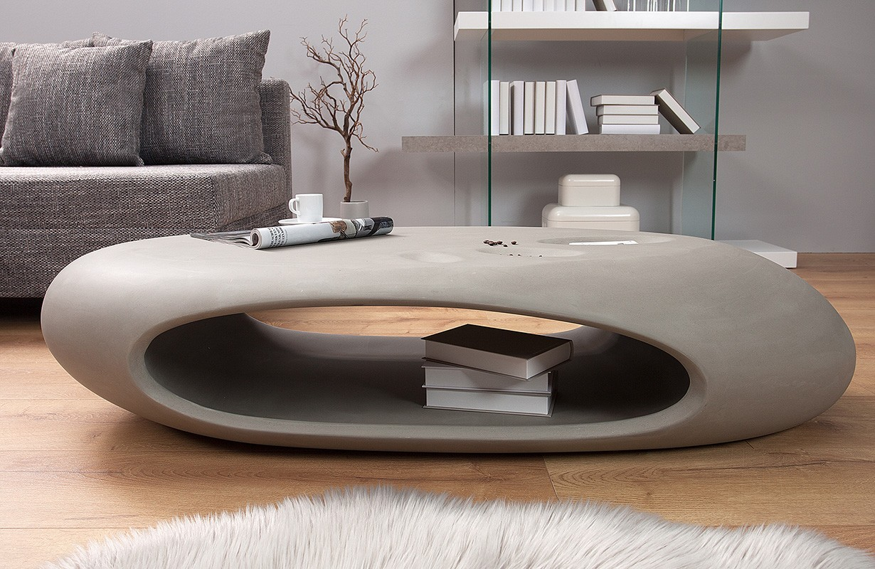 nativo meubles salon d co table basse design bubble concrete. Black Bedroom Furniture Sets. Home Design Ideas
