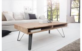 Designer Couchtisch RENO 110 cm AKACIA- NATIVO™ Möbel Schweiz