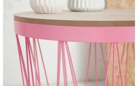 Tavolino di design CAGE II ROZE
