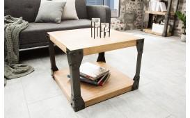 Designer Beistelltisch FABRIK 60 cm AKACIA- NATIVO™ Möbel Schweiz