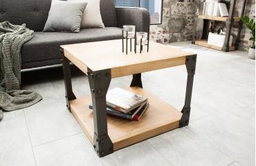 Tavolino d'appoggio di design FABRIK 60 cm AKACIA