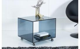 Designer Beistelltisch CLEAR 50 cm ROL ANTHRAZIT- NATIVO™ Möbel Schweiz