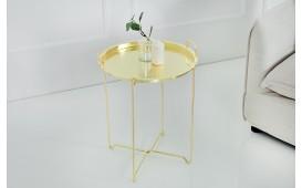 Designer Beistelltisch CASABLANCA GOLD