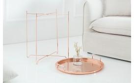 Tavolino d'appoggio di design CASABLANCA COPPER