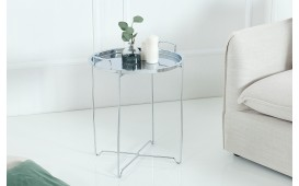 Table d'appoint Design CASABLANCA SILVER