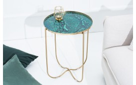 Designer Beistelltisch MARMO GREEN 43 cm- NATIVO™ Möbel Schweiz