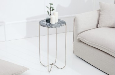 Tavolino d'appoggio di design MARMO GREY