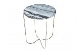Tavolino d'appoggio di design MARMO SILVER