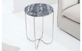 Table d'appoint Design MARMO GREY M