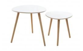 Designer Beistelltisch PIN WHITE SET 2- NATIVO™ Möbel Schweiz